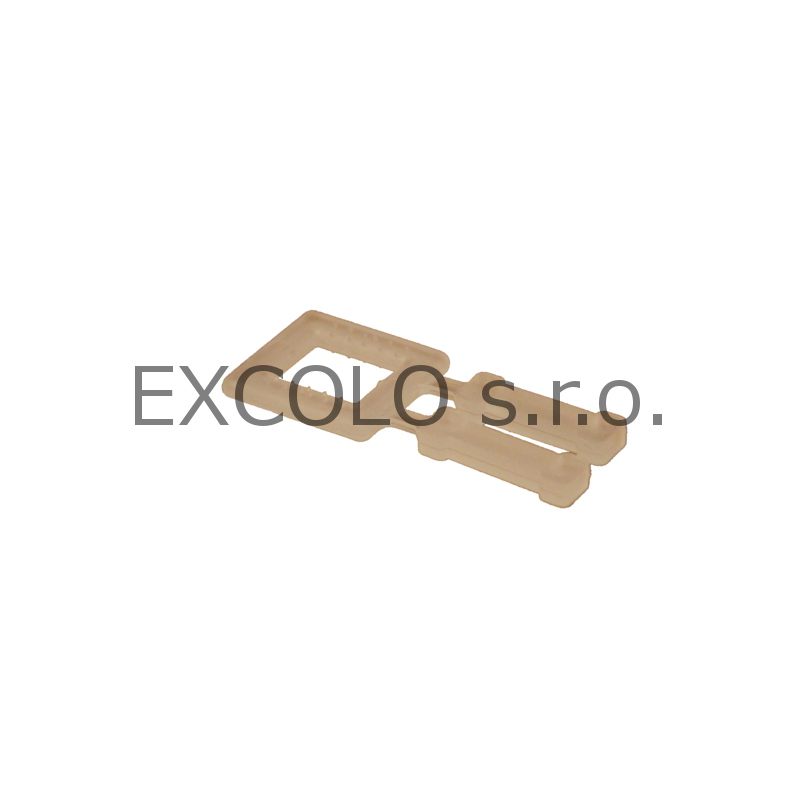 16200013 Spony samosvěrné plastové Ep-13 1000ks