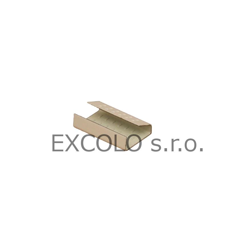 16300016 Spony mačkací ocelové XL-16 1600ks