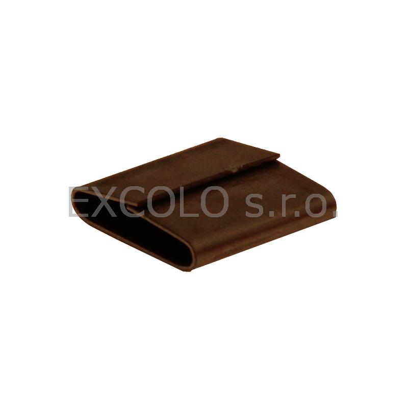 16400013 Spony mačkací ocelové pro ocelovou pásku SO-16 2250ks