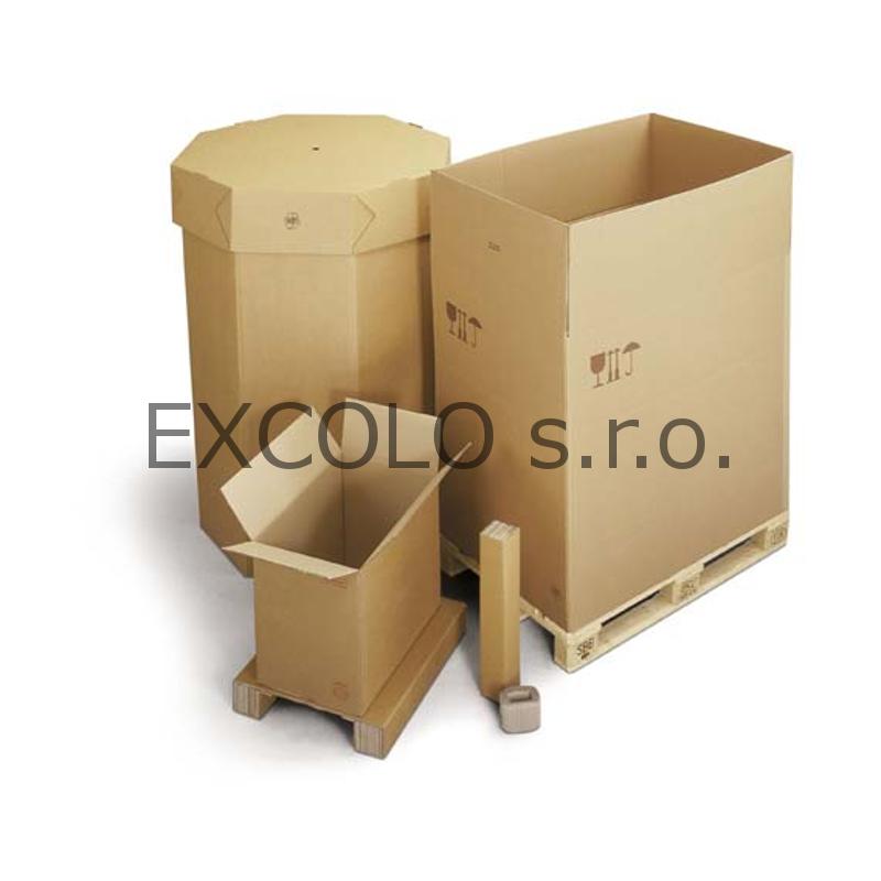 33312086 Krabice z pětivrstvé lepenky