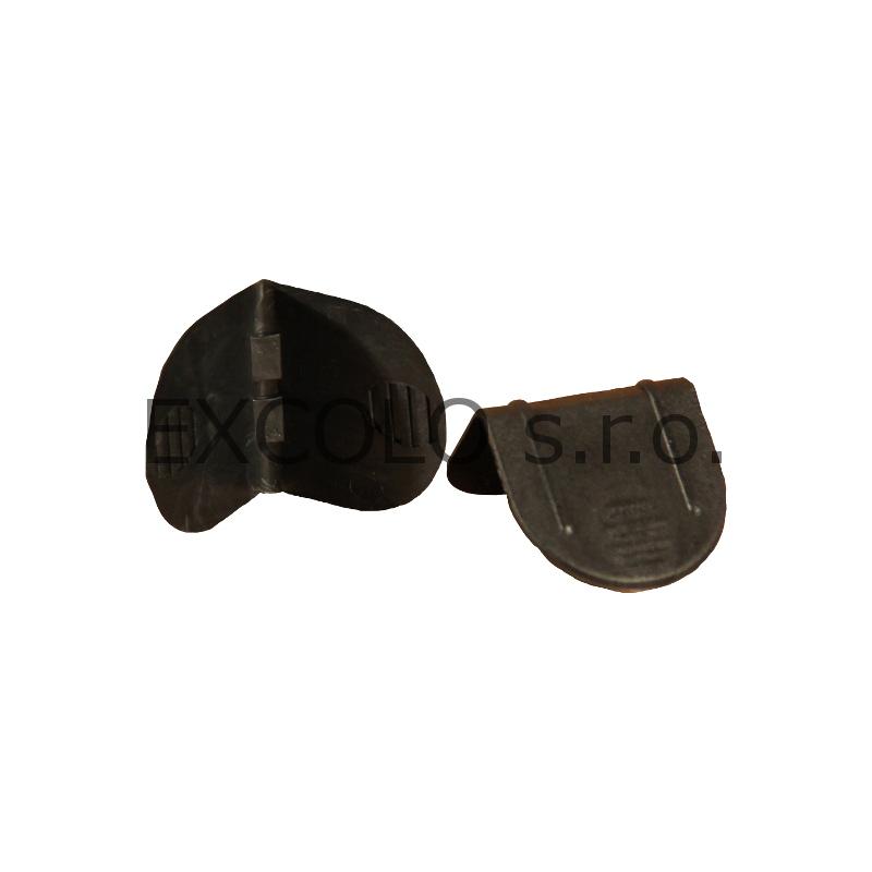 41000210 Plastový ochranný roh PL-21 1250ks