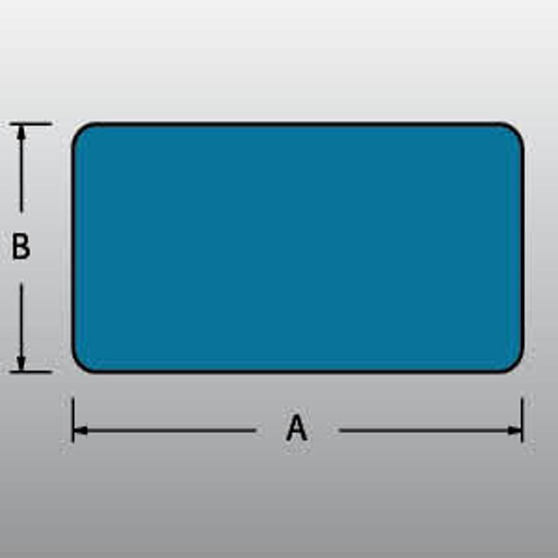 42400050 Pěnový profil R 50×50