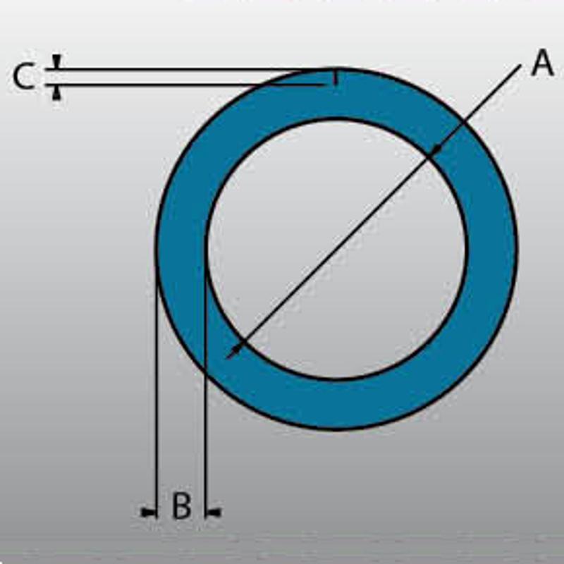 42600050 Pěnový profil O(S) 48-9